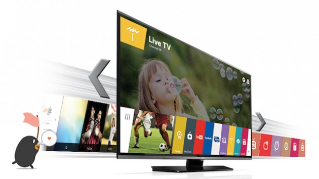LG smartTV App cloud videorekorder Mediathek TV